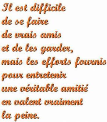 Poeme Pour Les Amis